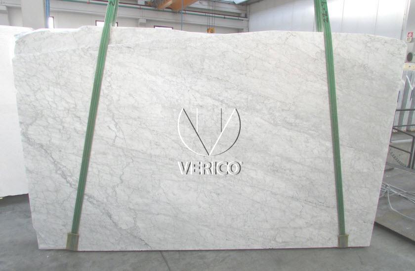 W Ultra Bianco Carrara C - włoski marmur - płyty surowe 2cm - Duże płyty ZQ72