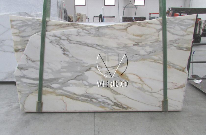 Fantastyczny Calacatta - włoski marmur - płyty surowe 2cm - Duże płyty 260 GC45